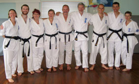 Seido Brisbane black belts